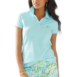 Lily Pulitzer Island Polo Shirt Size XSmall